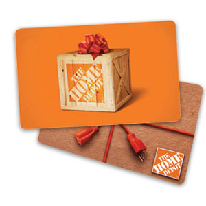 $300 Home Depot Gift Card Giveaway