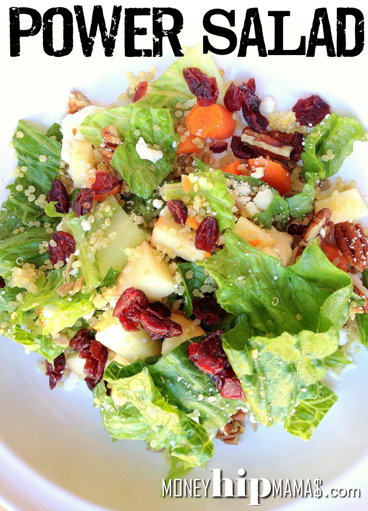 Kalyn's Power Salad Mix Recipe — Dishmaps