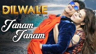 Janam Janam – Dilwale _ Shah Rukh Khan _ Kajol _ Pritam _ SRK _ Kajol _ Lyric Video 2015