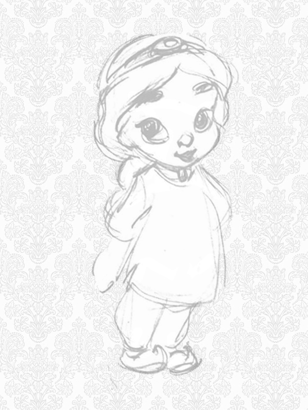 Bonito Bebé Jazmín Para Colorear Imágenes - Dibujos Para Colorear En ...