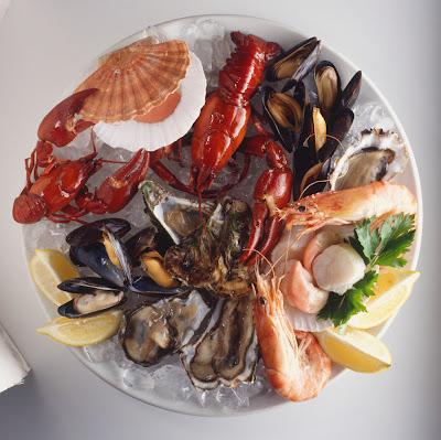Amerykańskie smaki: owoce morza- makaron z krewetkami i cukinią