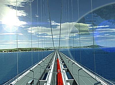 Desain Kontruksi Jembatan Selat Sunda