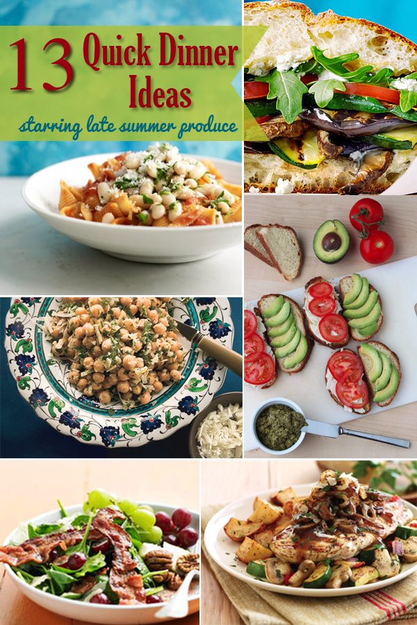 JoAnn's Special: Quick Dinners