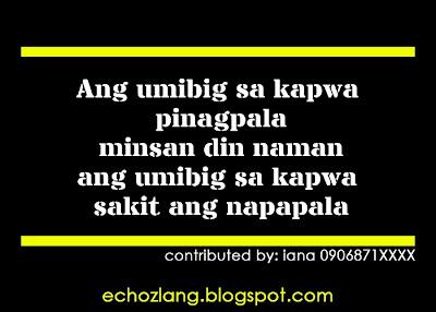 Hindi sa lahat ng oras na ang umibig sa kapwa ay pinagpala