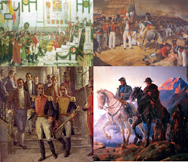 GUERRAS DE INDEPENDENCIA HISPANOAMERICANAS (1809-1826) INDEPENDENTISTAS Vs FIELES A ESPAÑA