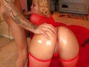 Alexis Texas – A cuzuda de lingerie vermelha