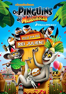 >Assistir Filme Os Pinguins de Madagascar: Feliz Dia do Rei Julien Online Dublado Megavideo