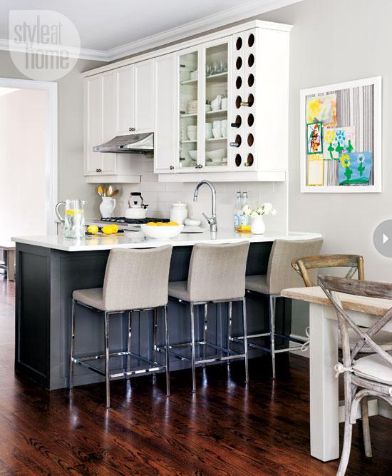 Escape Gray Kitchen: A Life's Design: Causal Comfort