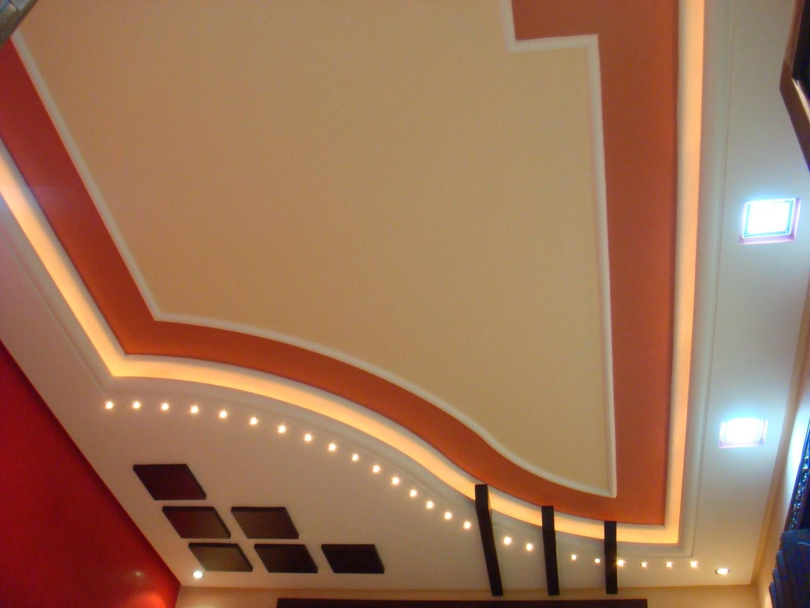 Décoration maison villa : salons marocains et plafond platre  Deco salon