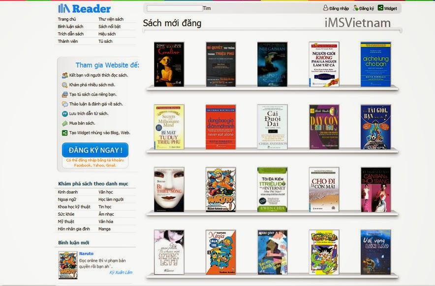 thiết kế web nhà sách chuyên nghiệp