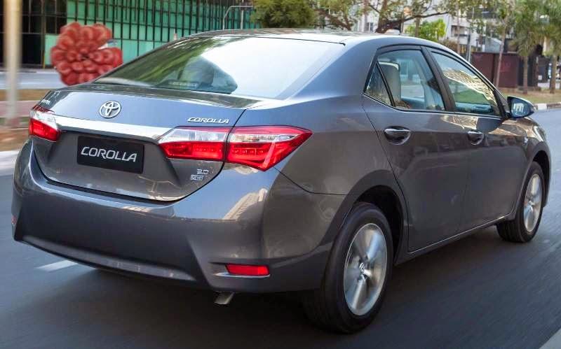 Novo Corolla 2015 sedan mais vendido do Brasil