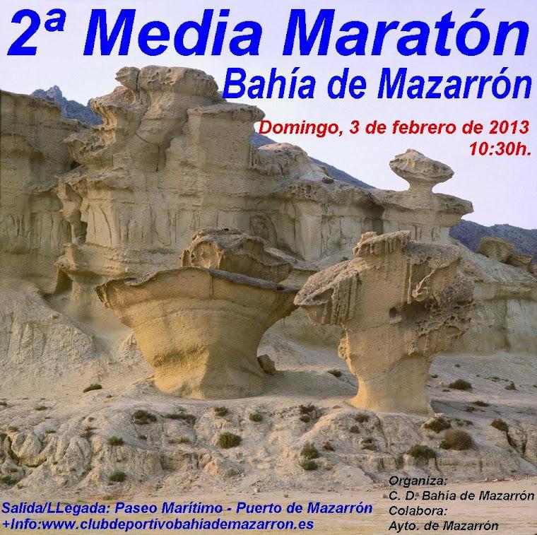 Media Maratón Mazarrón 2013.