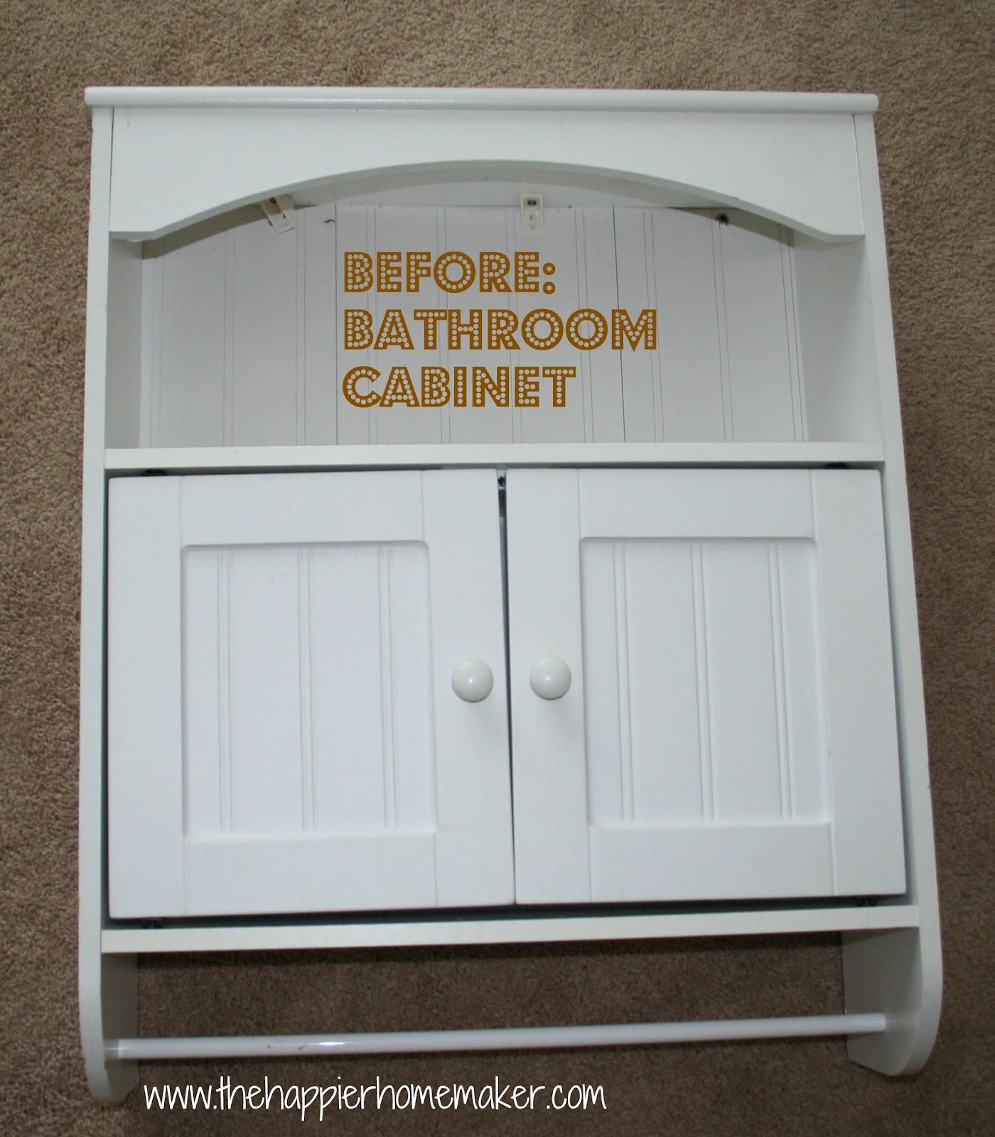 Bathroom Cabinet to Kids Bookcase – Bathroom Bookshelf