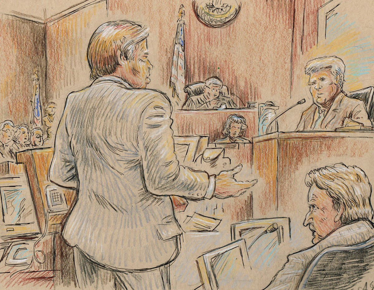 Courtroom Sketches by Avidor
