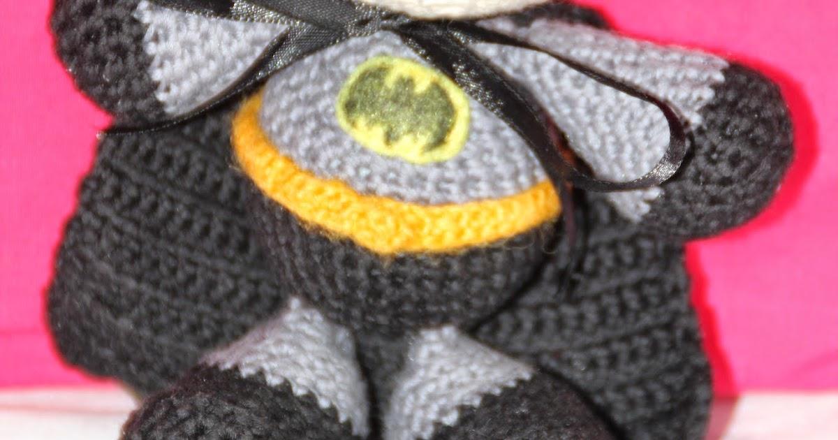 Amigurumi De Batman Patron : El Mundo de K rol: Patron Batman Amigurumi