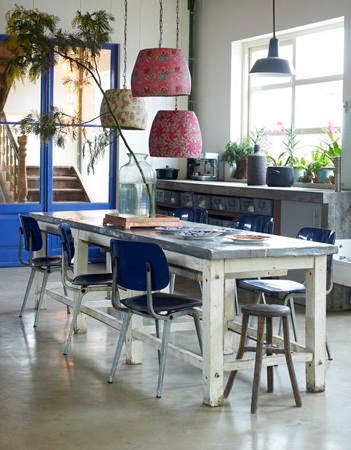Country style chic industrial chic - Style industriel chic ...