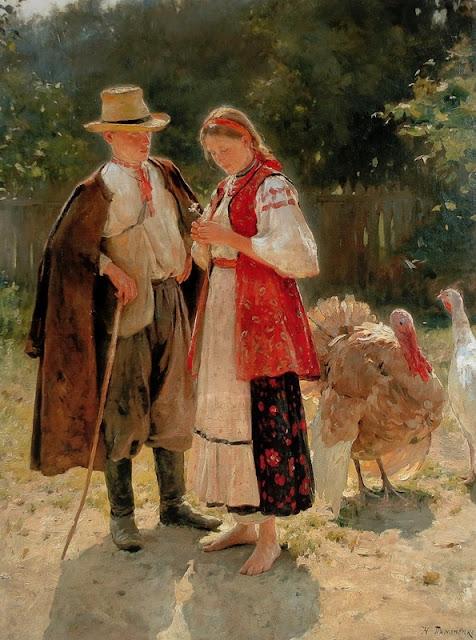 Николай Пимоненко, Идиллия, 1908
