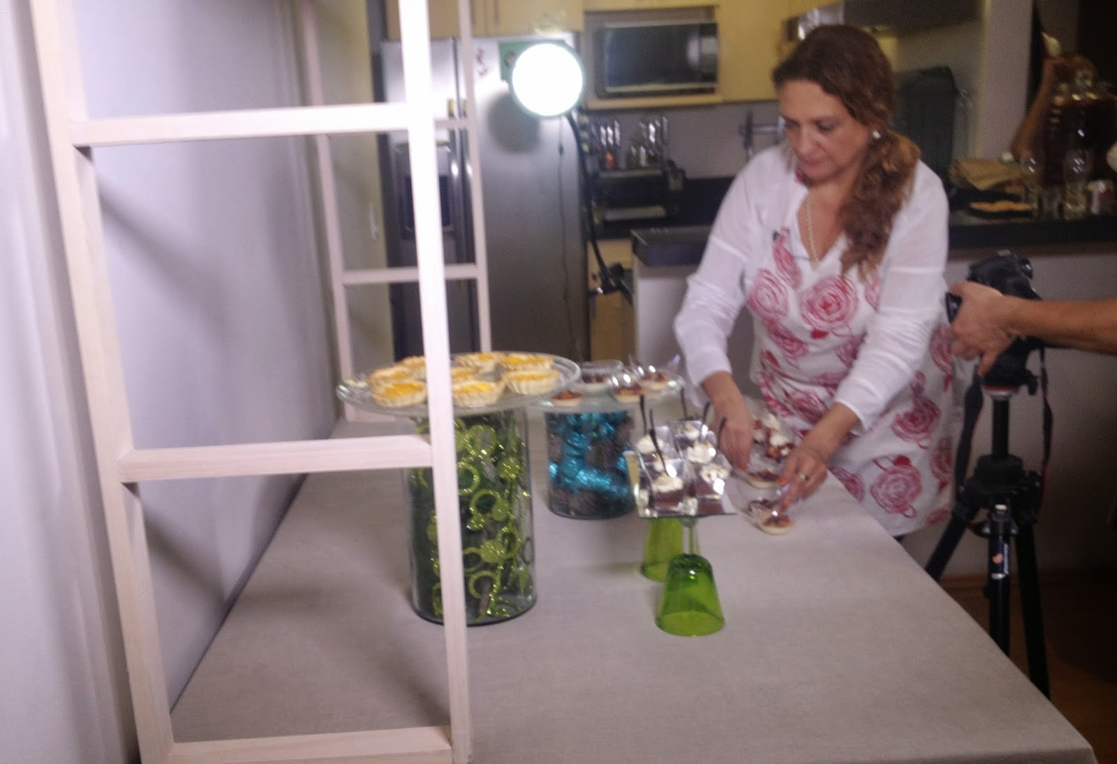 La casa de alejandra mesa de dulces de navidad diy - Como poner bloques de vidrio ...