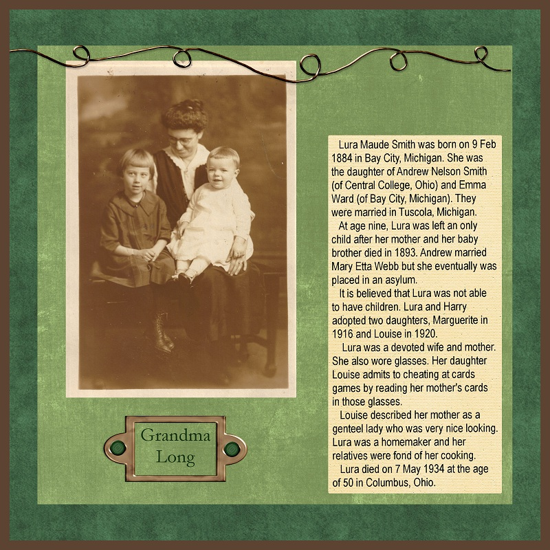 heritage scrapbooking ideas