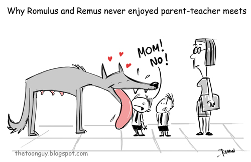 thetoonguy  why romulus and remus never enjoyed parent