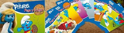 Cuadernillos de Actividades de los Pitufos - Promociones Marca