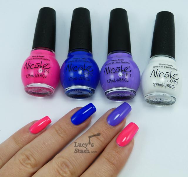 Lucy's Stash - Nicole by OPI Scandalous! Neons set