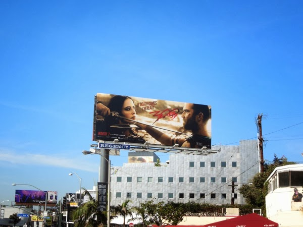 300 rise Empire movie billboard