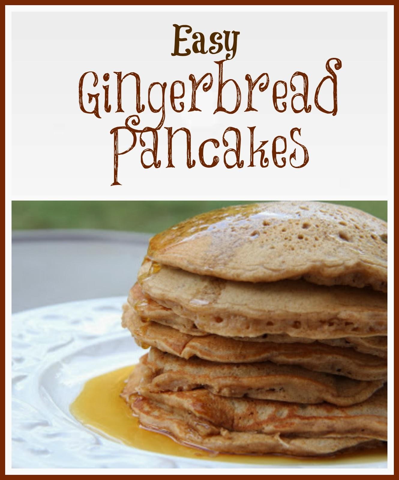 Gingerbread Pancakes Mix and Match Mama