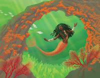 Cameroonian mermaid