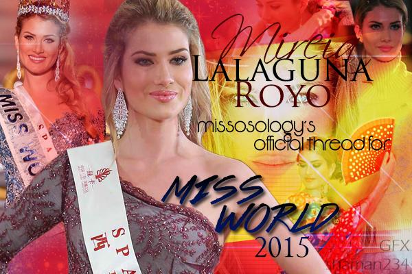 Mireia Lalaguna, Miss World 2015