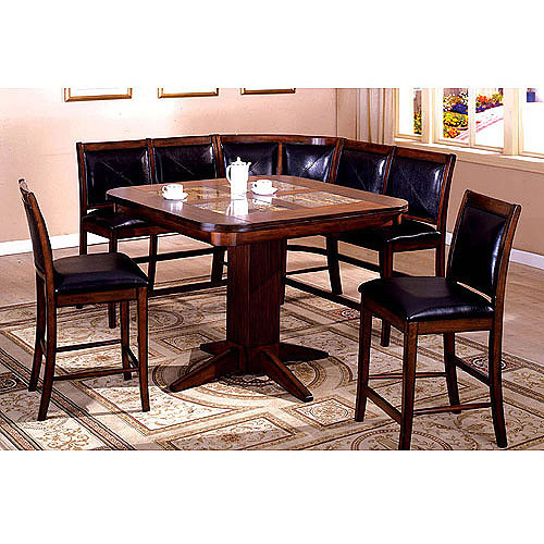 Booth kitchen pic booth dining room table for Dining room tables booth style