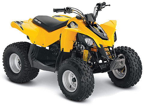 2013 Can-Am DS 90 ATV pictures. 480x360 pixels