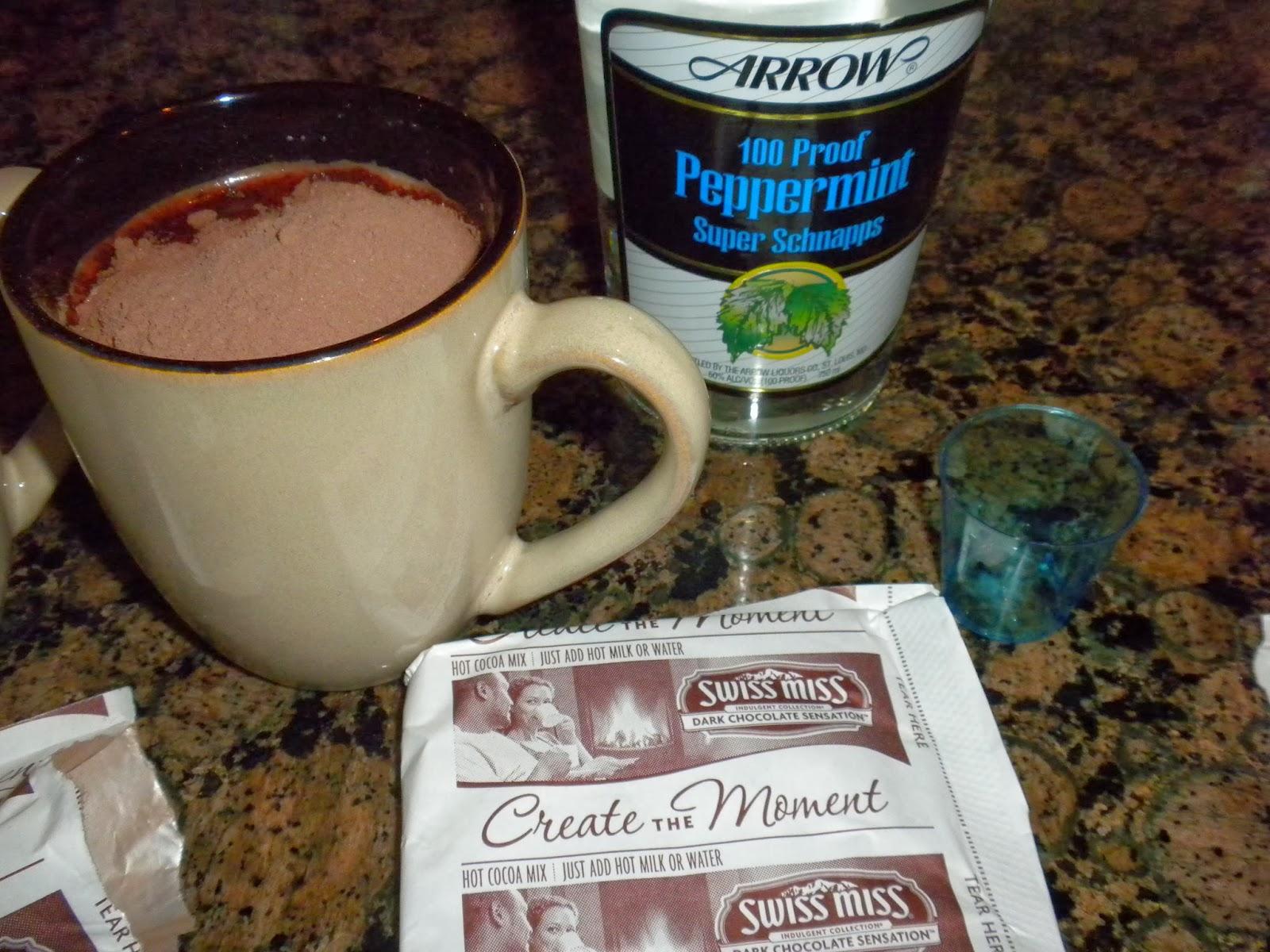 Instant Peppermint Hot Chocolate by Substance of Living