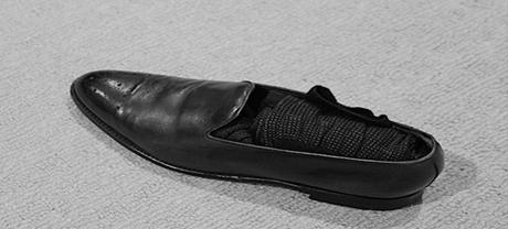 استغلال الحذاء