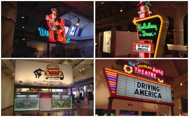 Reason 6: Nostalgic Neons at Henry Ford Museum  | iNeedaPlaydate.com @mryjhnsn