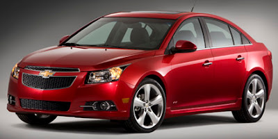 2012 Chevrolet Cruze 1XF Front View