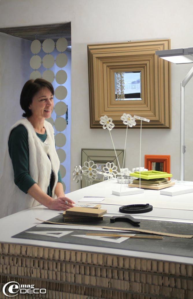 Cécile Chappuis, créatrice de la marque Carton Noir