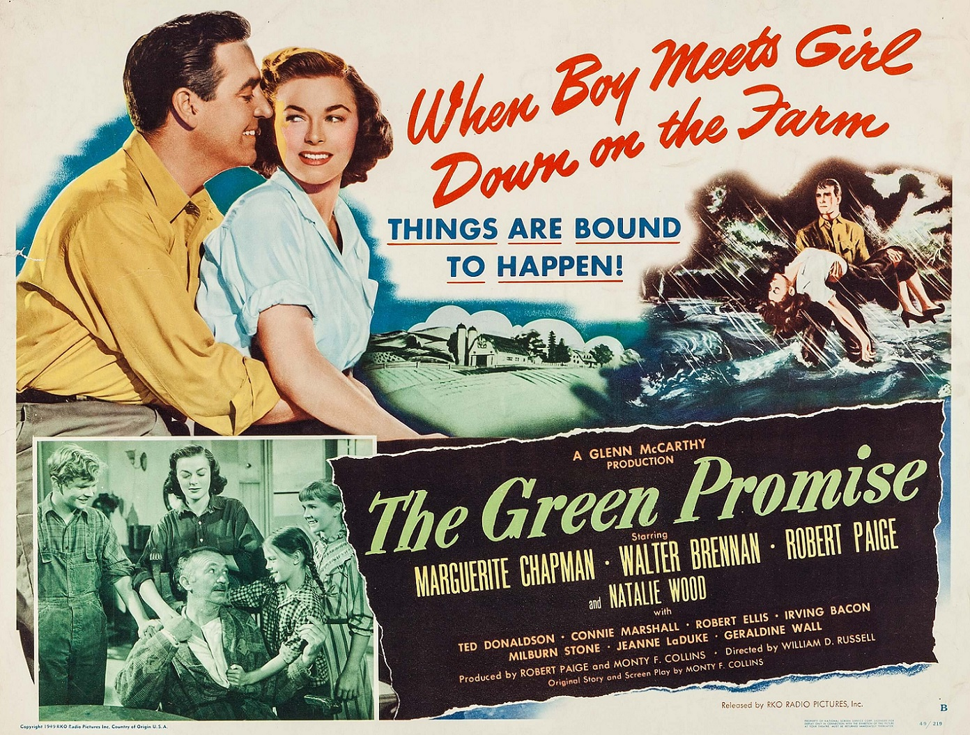 THE GREEN PROMISE (1949) WEB SITE