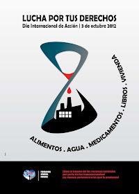 DÍA INTERNACIONAL DE ACCIÓN 2012 POSTERS