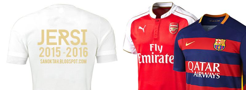 Jersey Bola 2015-2016