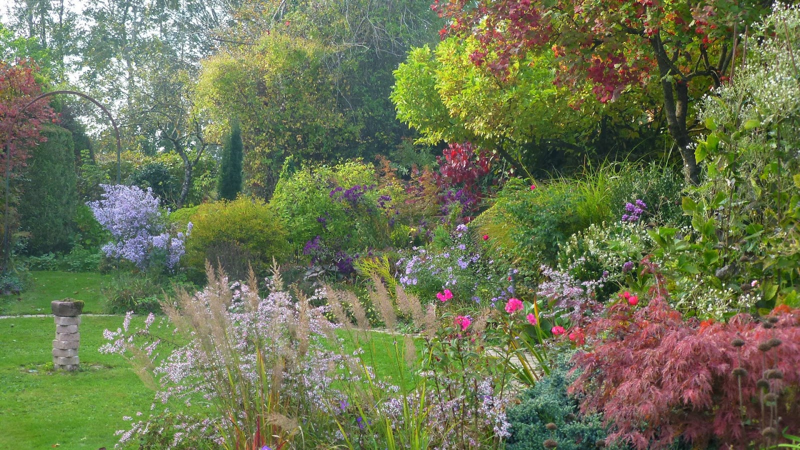 Plan jardin anglais simple jardin albert kahn un coin de for Photo de jardin anglais