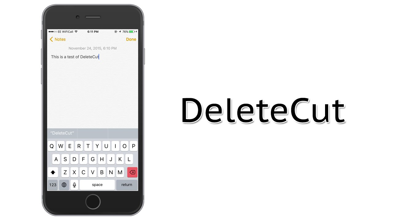 How To Erase Whole Words On Ios 9 Iphone Instantly