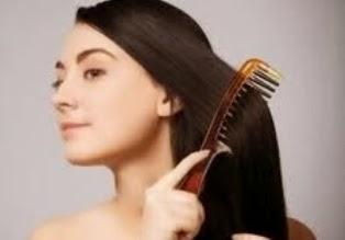 Menyisir Rambut