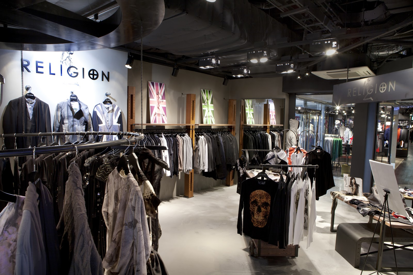 Cult clothing stores
