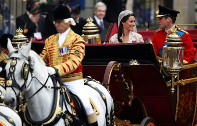 Pangeran William dan Kate Middleton nikah