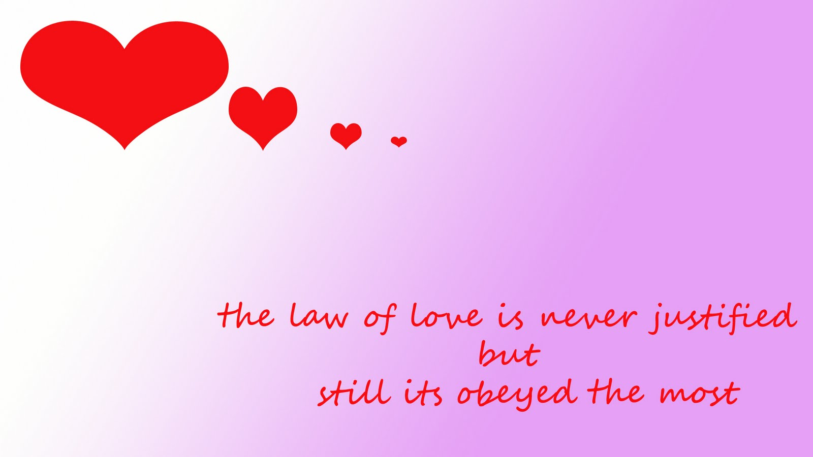 Love Wallpaper With Feelings : Love feelings and emotions: law of love wallpaper