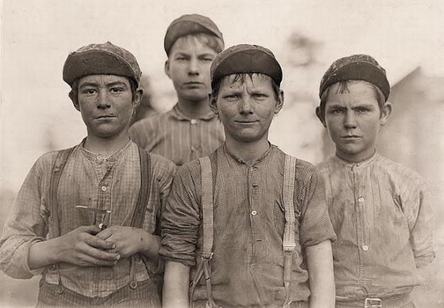 Child Labor In America 1908 Vintage Everyday