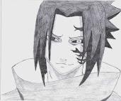#14 Sasuke Manga Drawing