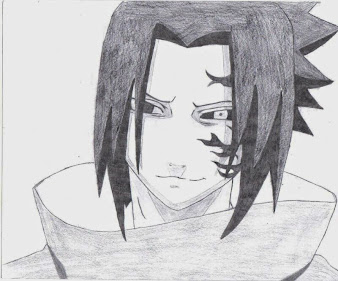 #14 Sasuke Manga Drawing