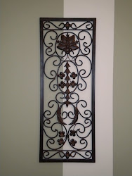 metal wall decor...SOLD
